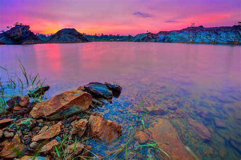lake, Rocks, Landscape Wallpapers HD / Desktop and Mobile ...