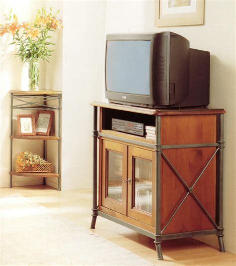 bureau en merisier meuble tv vido en bois et fer forg alki