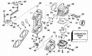 Johnson Carburetor  U0026 Linkage