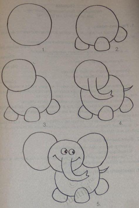 die besten  elefanten zeichnungen ideen auf pinterest