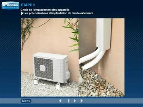 installation climatiseur mono split conseils de montage climweb