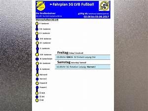 Lvb Leipzig Fahrplan : fahrplan bis sg lvb e v abteilung fu ball ~ Eleganceandgraceweddings.com Haus und Dekorationen