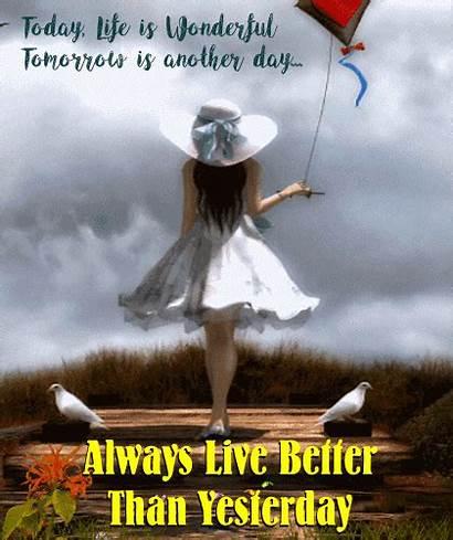 Better Always Yesterday Than Card 123greetings Cards