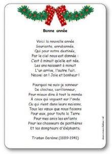 poesie bonne annee de tristan dereme poesie illustree