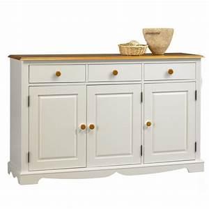 Meuble Bas 3 Portes : meuble pas cher meuble bureau tiroir lepolyglotte ~ Teatrodelosmanantiales.com Idées de Décoration