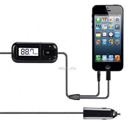 iphone radio tuner wireless car fm transmitter lcd radio tuner free 3