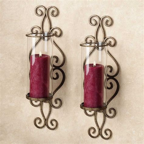 large sconces for candles sconce image of large candle wall sconces dining