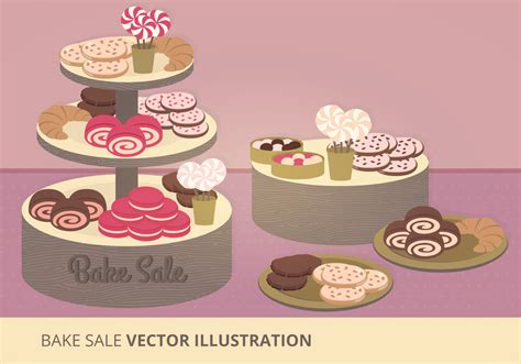 bake sale bake sale vector illustration download free vector art stock graphics images