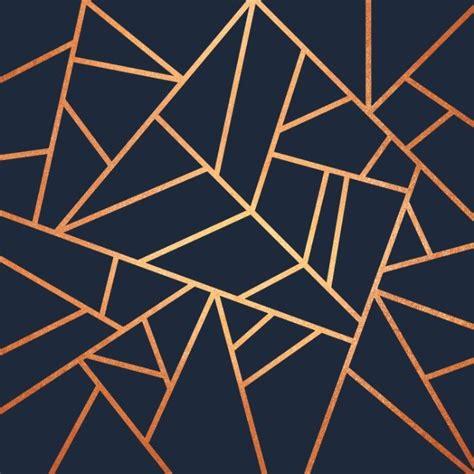 copper  midnight navy art print finish navy rug
