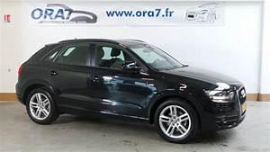 Audi Q3 Noir : audi q3 2 0 tdi 140ch s line quattro occasion lyon neuville sur sa ne rh ne ora7 ~ Gottalentnigeria.com Avis de Voitures