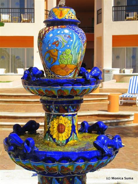 mexican fountains pin by serreal designs on serreal la hacienda pinterest
