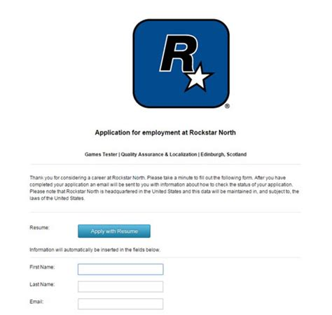 dream job    rockstar advertise  game tester