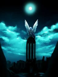 Full Moon Night Sky