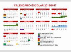 Feccoocyl Calendario escolar 20162017