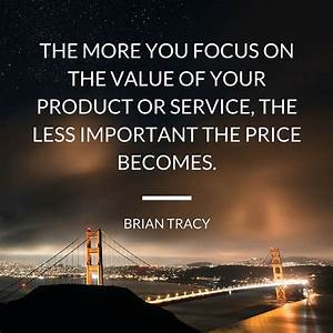 Value Selling |... Orleanna Price Important Quotes