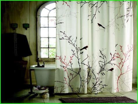 vintage bird shower curtain shower curtain ideas