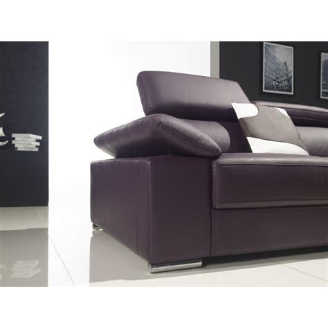 canapé d angle cuir pleine fleur canapé d 39 angle en cuir pleine fleur alvaro pop design fr