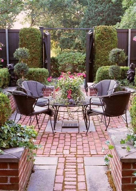images  paving  gravel  brick  pinterest gardens brick garden  patio