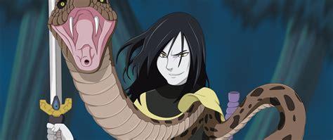 Hd Background Orochimaru Naruto Snake Fangs Sword Anime