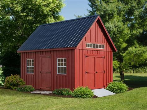 Colonial Barn  Rebuild Lives With Your Storage Shed Purchase