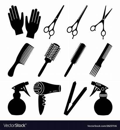 Hairdresser Tools Vector Royalty Vectors