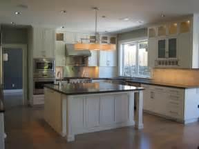 Island Kitchen Layout Modern Craftsman Kitchen