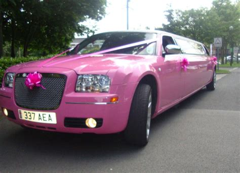 Pink Limo by Pink Limo Hire Birmingham Midlands Based Pink Limo Hire