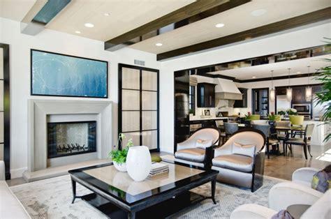 plan type de cuisine intérieur design d une maison côtière californienne