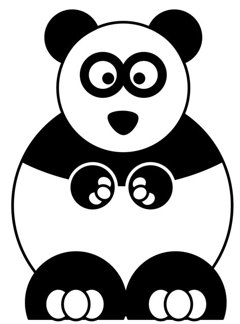 red panda coloring pages clipart panda  clipart images