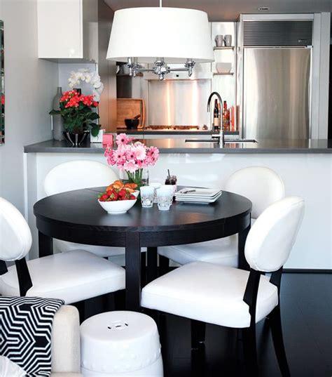 decoracion comedores en blanco  negro decoracion de