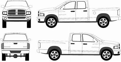 Dodge Ram 1500 Pickup Clipart Pick Crew