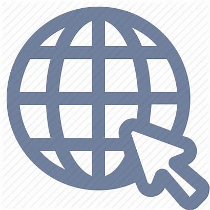 Icon Ctr Website Globe Grid Magnifier Airport
