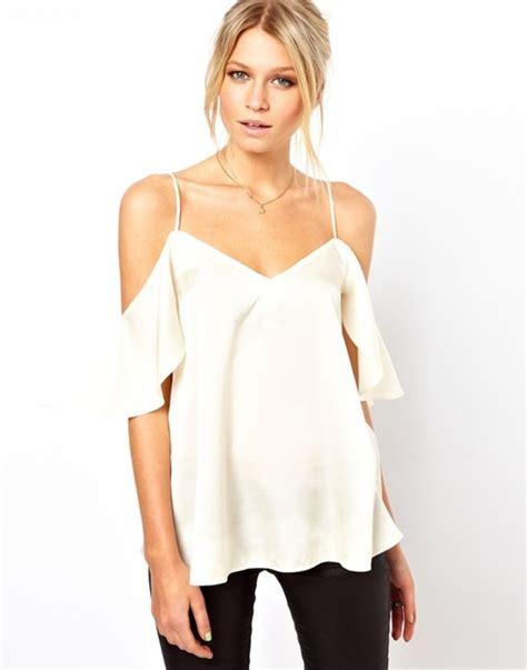 cold shoulder blouses the cold shoulder clothes