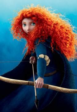Merida in Brave and the fiery redhead trope: Why does ...