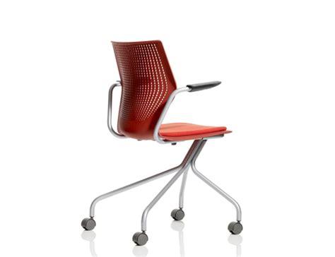 multigeneration by knoll 174 hybrid base ergonomic side chair