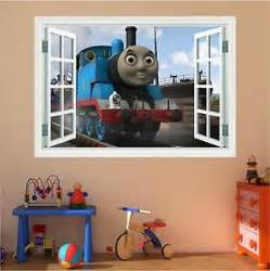 huge 3d thomas the tank engine window full colour print
