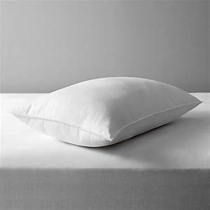 buy john lewis synthetic soft touch washable standard With buy firm pillows