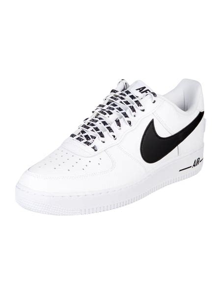 nike sneaker air force   lv mit perforationen