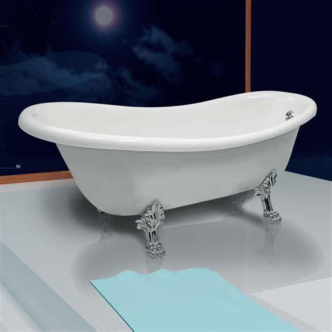 vasche da bagno esterne vasca da bagno tradizionale ellittica 170x80 cm piedi in