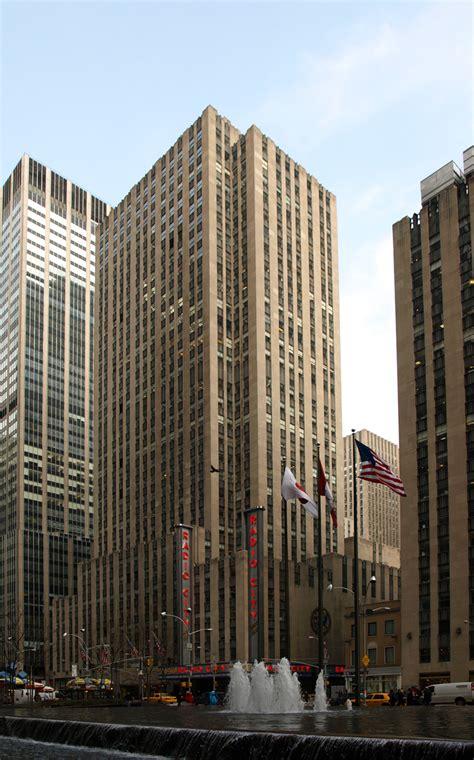 avenue   americas  skyscraper center