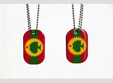 Dogtags New! Double sided with both OLF and Abbagadaa flag