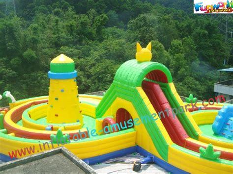 parc d attractions gonflable de petits enfants ext 233 rieurs jeux gonflables de sport s 251 rs pour la