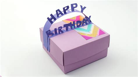 best birthday gifts diy birthday gift box