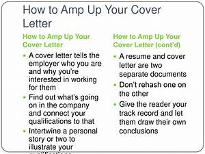 resume dos and don ts cover letter With dos and don ts of cover letters