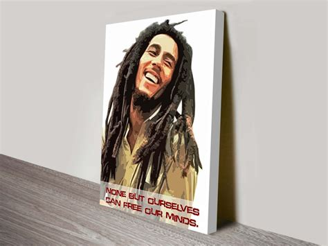 bob marley canvas art prints wall pictures  australia