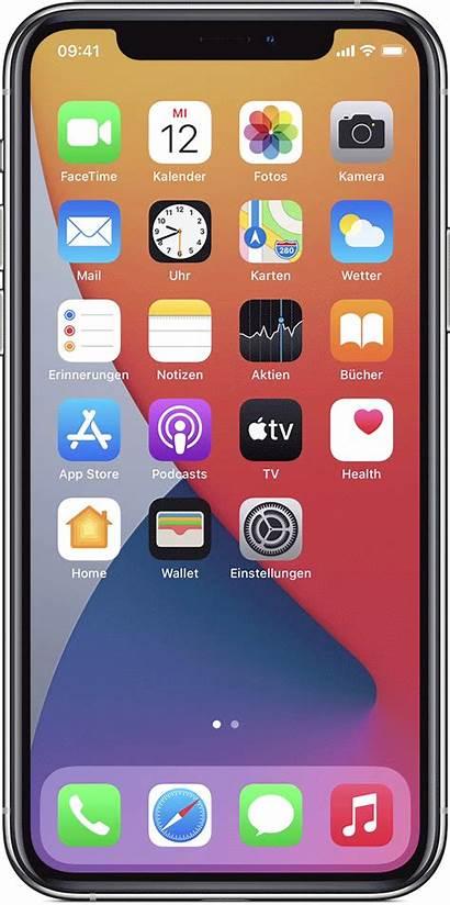 Iphone Apple App Support Schermata Pantalla Bildschirm
