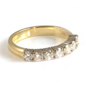 Yellow Gold Diamond Eternity Ring
