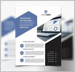 Free Brochure Template Word 17 Accounting Bookkeeping Services Flyer Templates