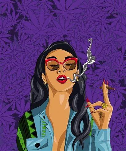 Weed Smoking Cartoon Smoke Cartoons Wallpapers Artstation