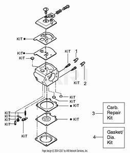 Poulan 1900 Gas Saw  Patriot 1900 Parts Diagram For Carburetor Assembly